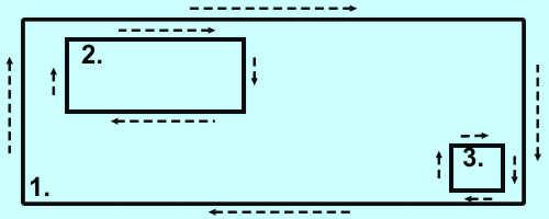 Схема проверяемого участка